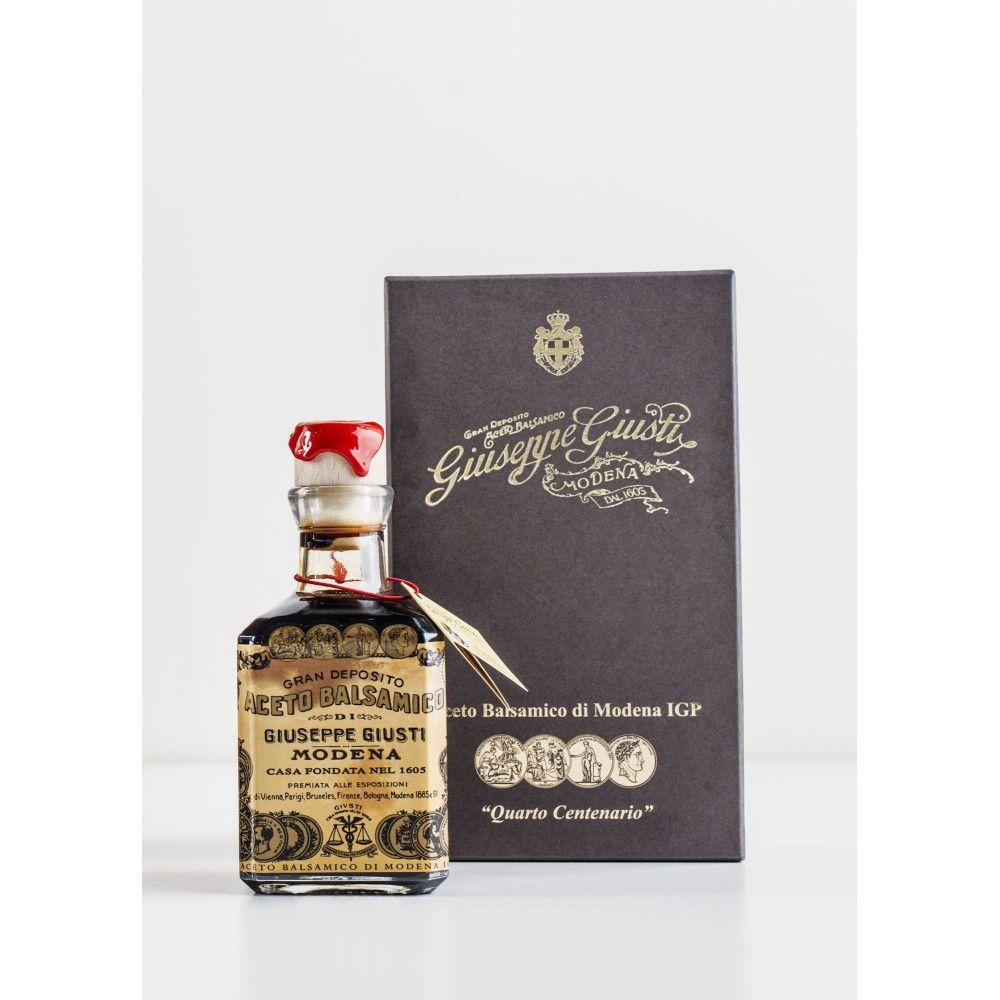 Balsamic Vinegar - 4 Gold Medals, Quarto Centenario par Giuseppe Giusti, 250ml