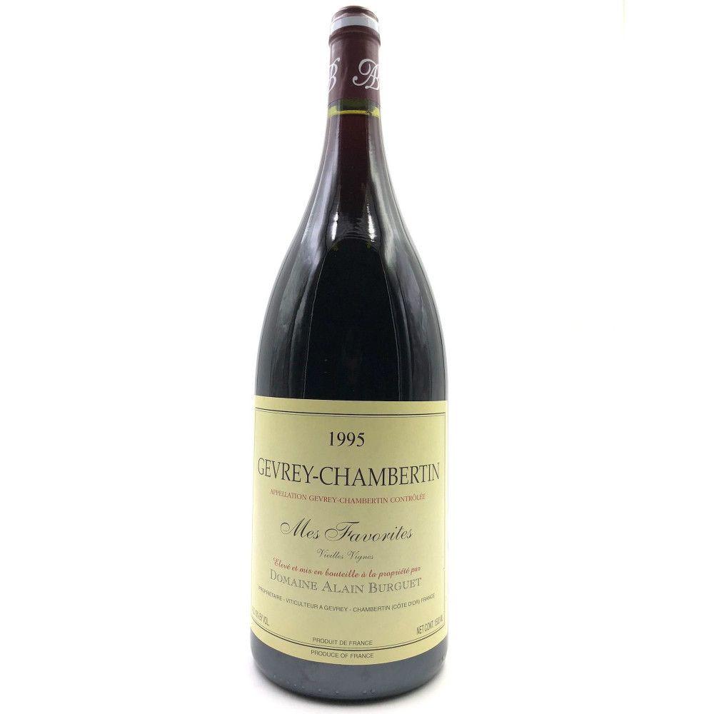 Alain Burguet - Gevrey Chambertin Mes Favorites vieilles vignes 1995 Magnum