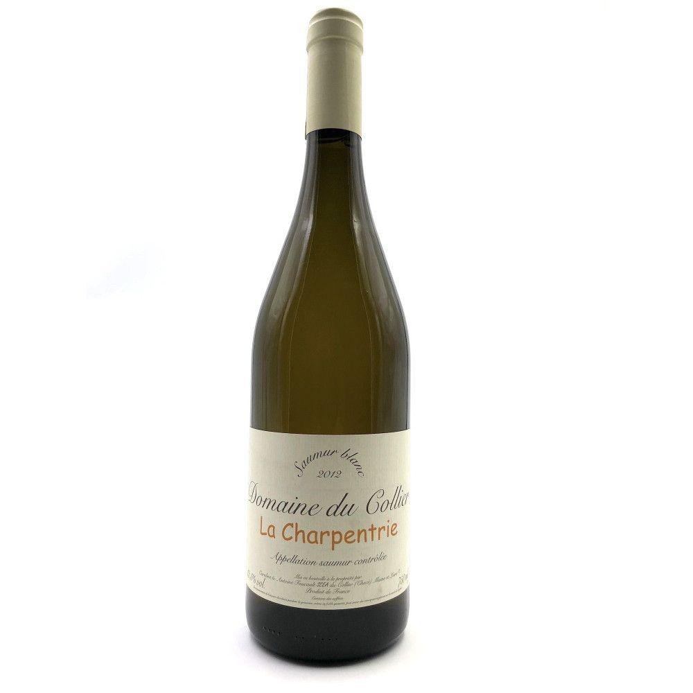 Domaine du Collier - La Charpentrie Saumur Blanc 2012