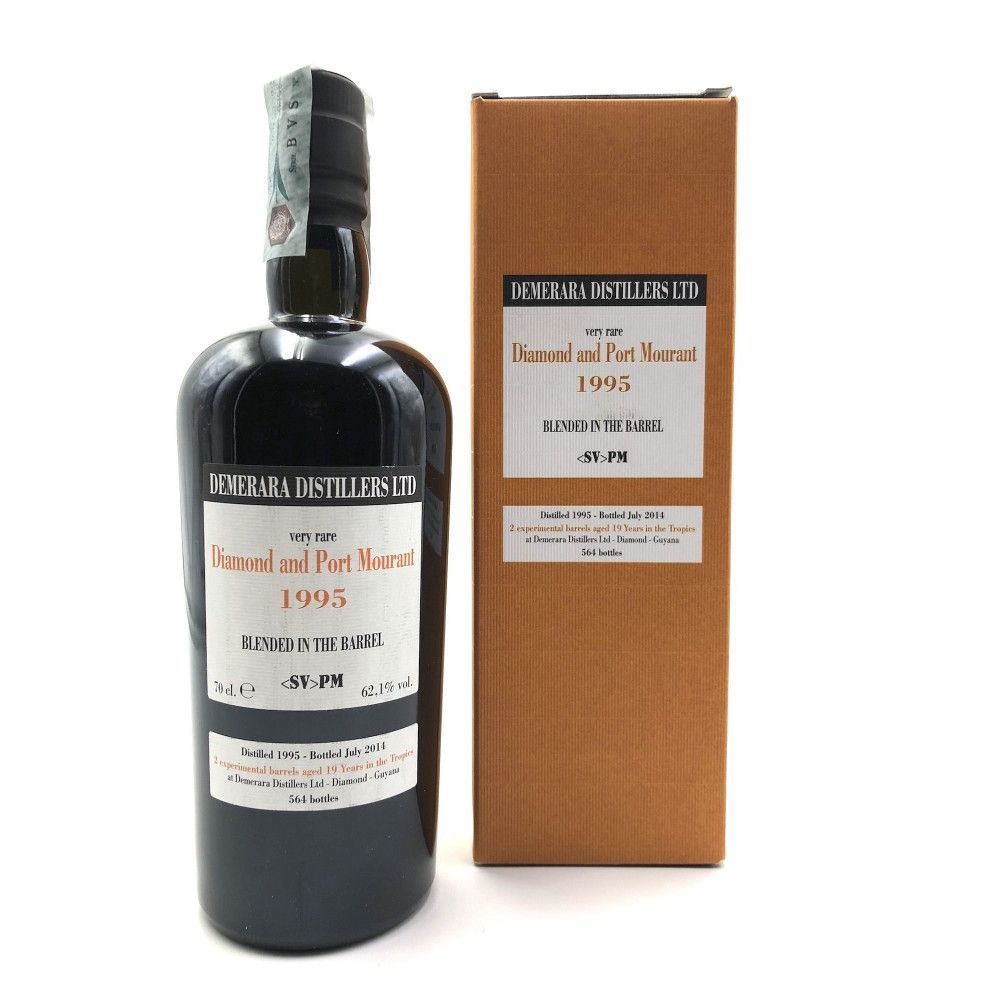 Rum Diamond & Port Mourant  SV PM 1995, 62,1°