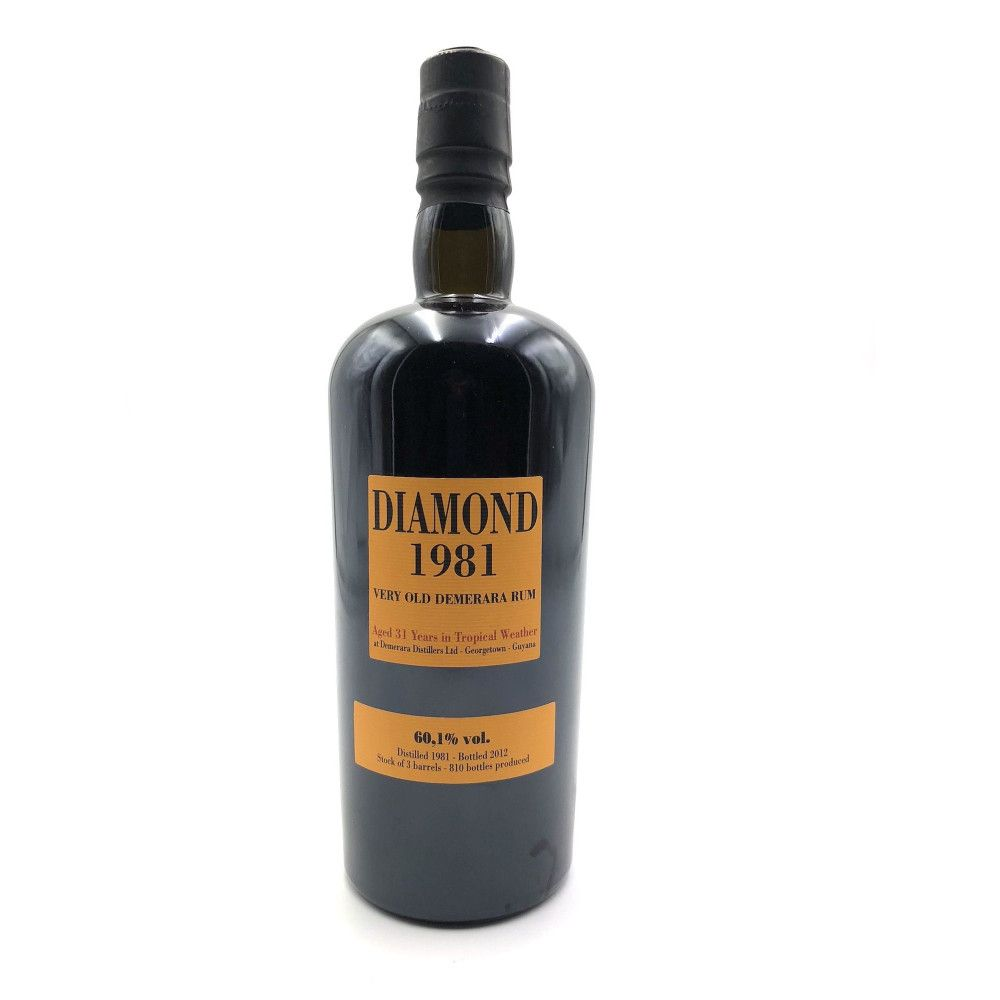 Rhum Diamond 1981, 60,1°