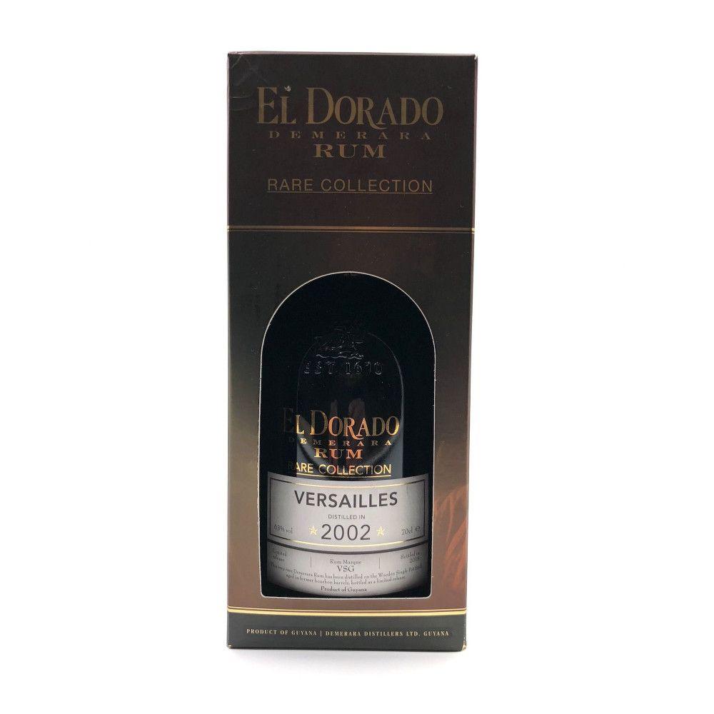 Rum El Dorado Versailles 2002, 63°