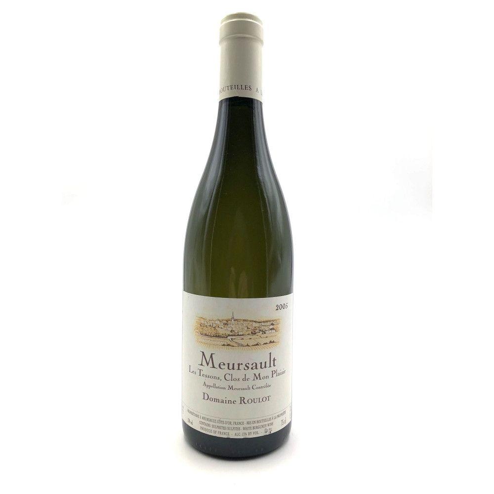 Domaine Roulot - Meursault Les Tessons, Clos de mon plaisir, Cote de Beaune 2005