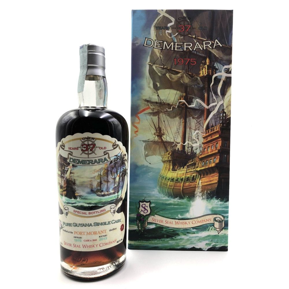Rhum Silver Seal Port Mourant 1975, 49,9°