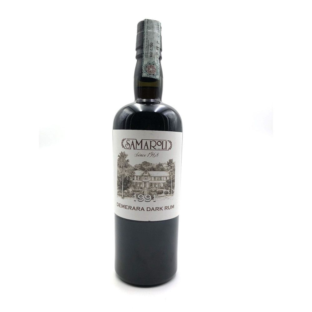 Rum Samaroli Guyana 1991, 45°