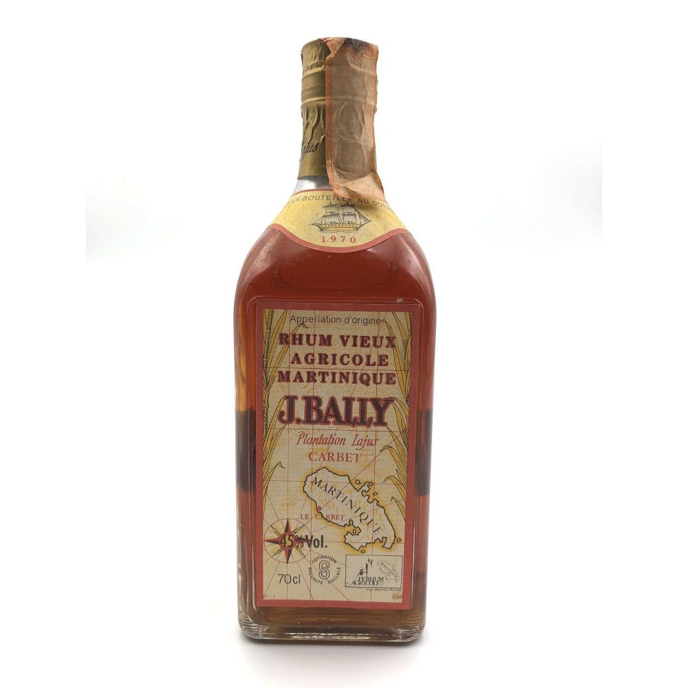 Rum J. Bally 1970 Martinique, 45°
