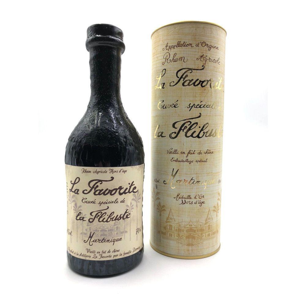 Rum La Favorite Cuvée Spéciale La Flibuste 1986, Martinique 40°