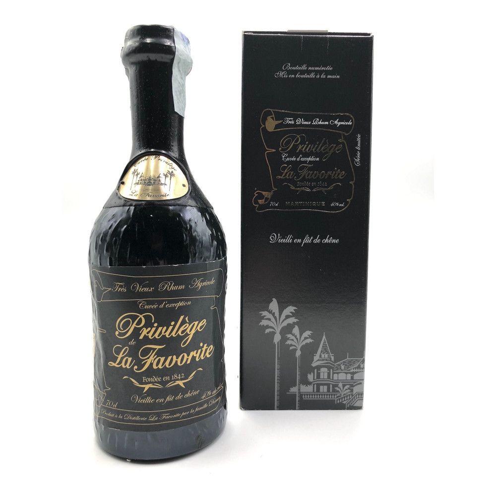 Rum La Favorite La Privilège 30 & 35 ans, Martinique 40°