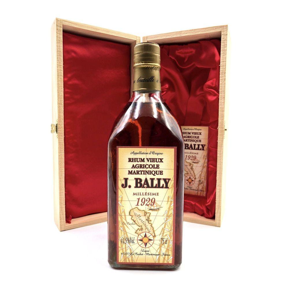 Rum J. Bally 1929 Martinique 41,5°