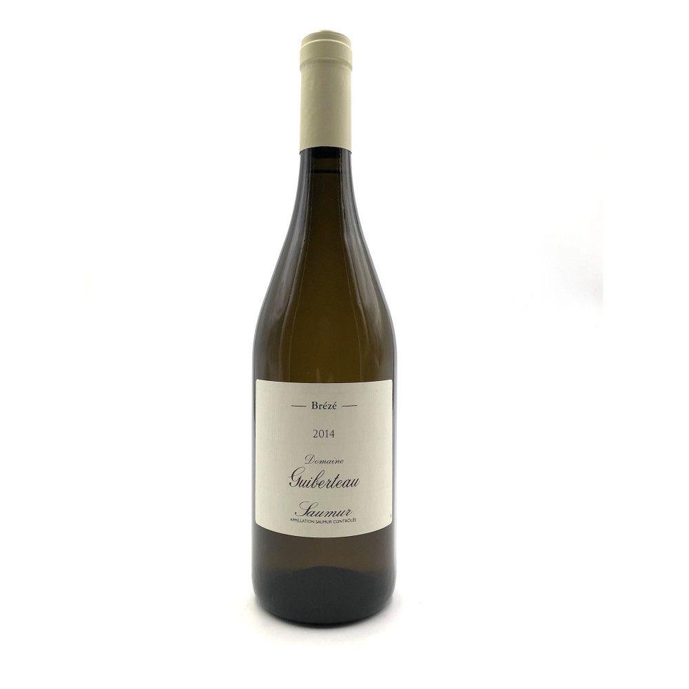 Domaine Guiberteau - Saumur blanc Brézé 2014