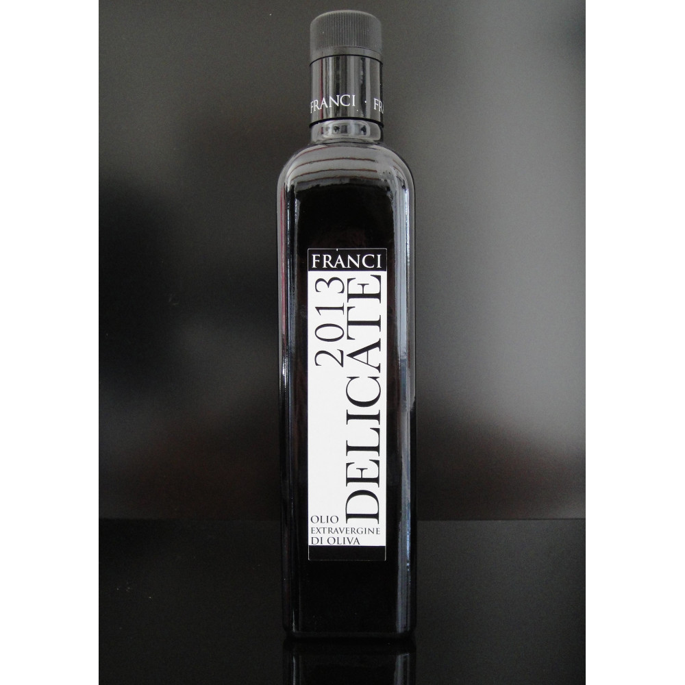 Olive Oil - Delicate 2013 by Frantoio Franci, 500ml