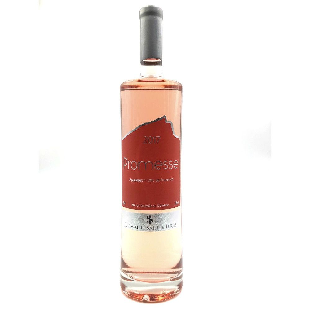 Domaine Sainte Lucie - Promesse Rosé 2017 magnum