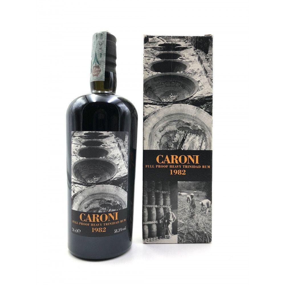 Rum Caroni 1982 Heavy Rum Full Proof, 58,3°