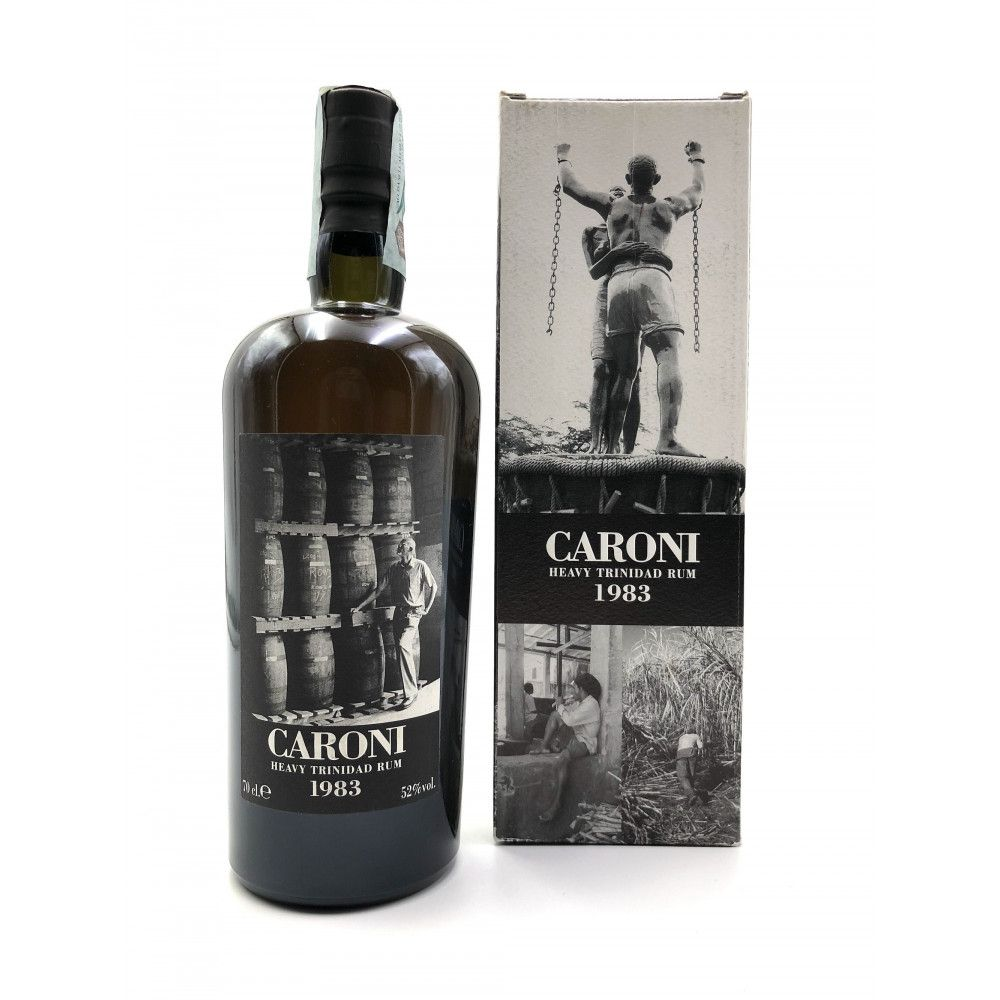 Rhum Caroni 1983 Heavy Rum High Proof, 52°