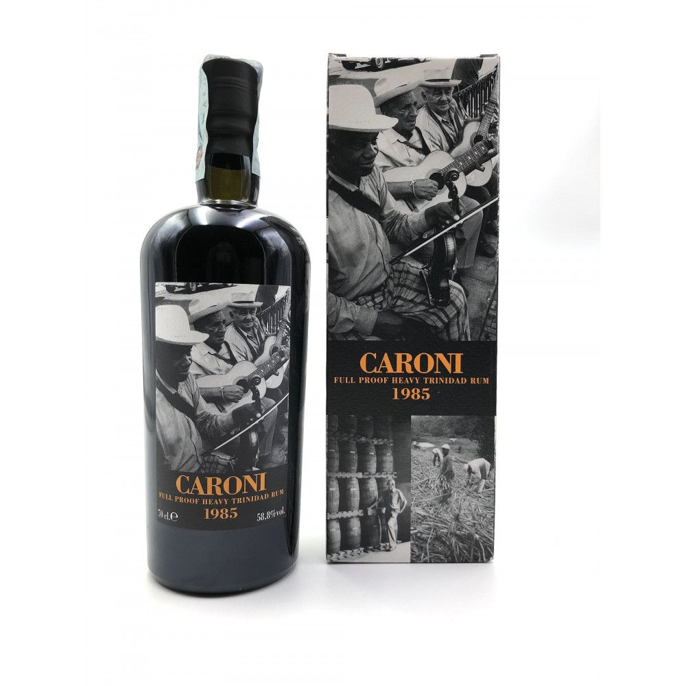 Rhum Caroni 1985 Heavy Rum Full Proof, 58,8°