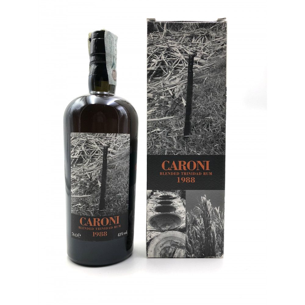 Rum Caroni 1988 Blended Rum 43°