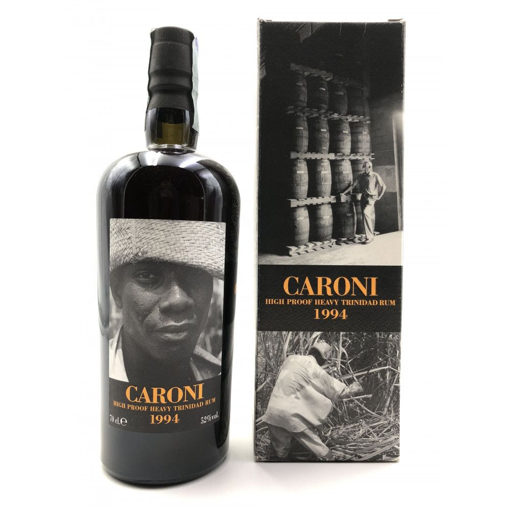 Rhum Caroni 1994 Heavy Rum High Proof 52°