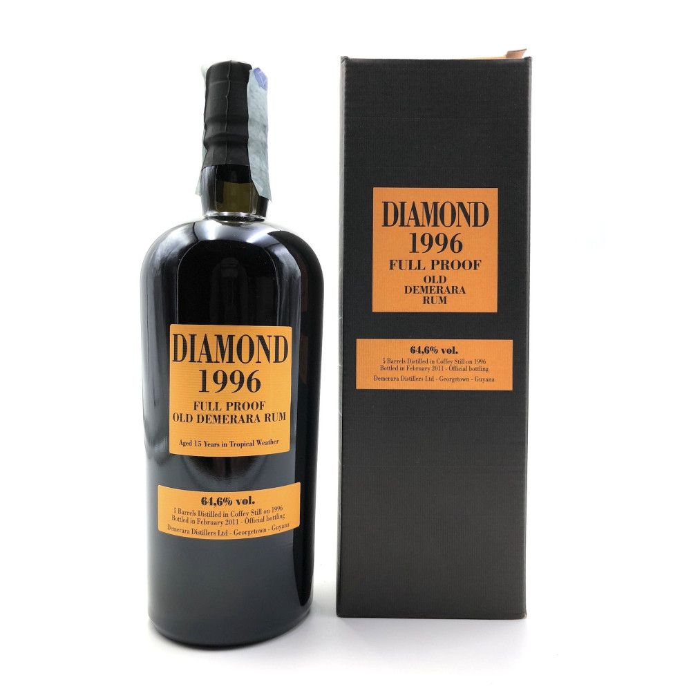 Rum Diamond 1996 Full Proof 64,6°