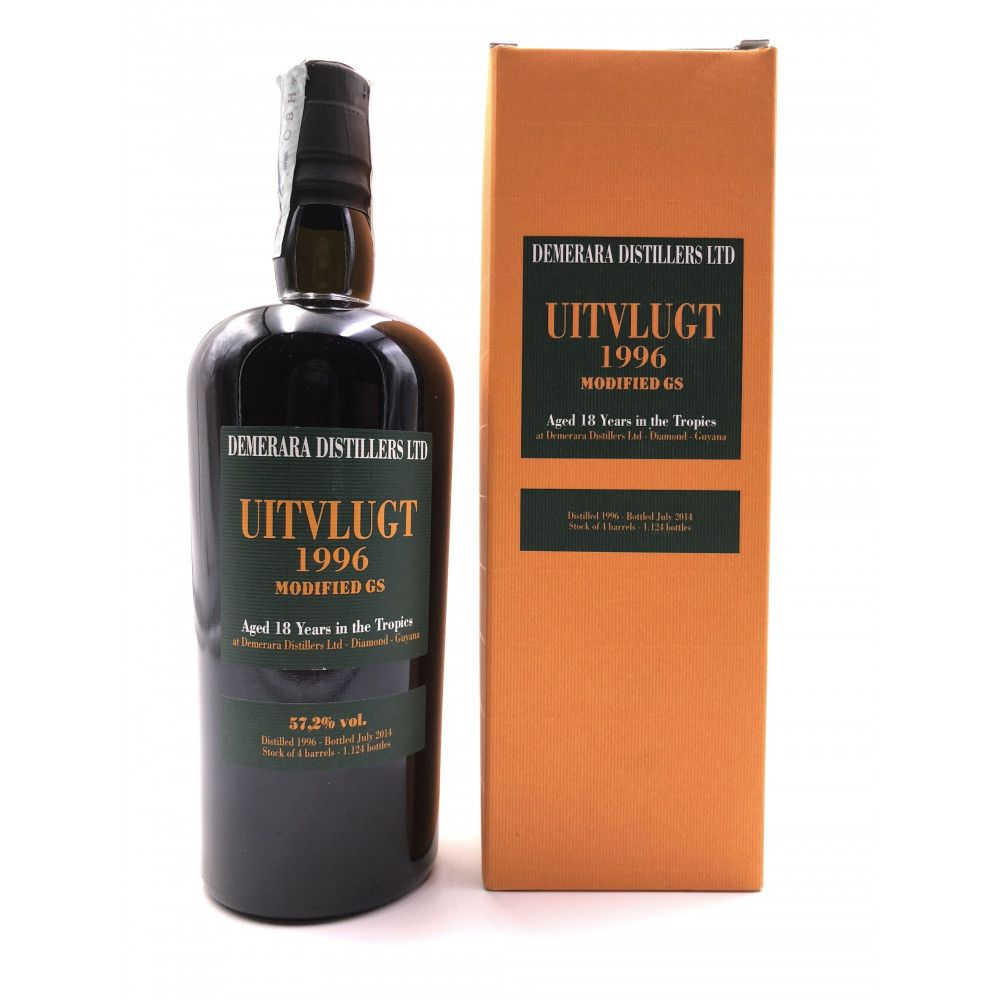 Rhum Uitvlugt, Modified GS 1996, 57,2°