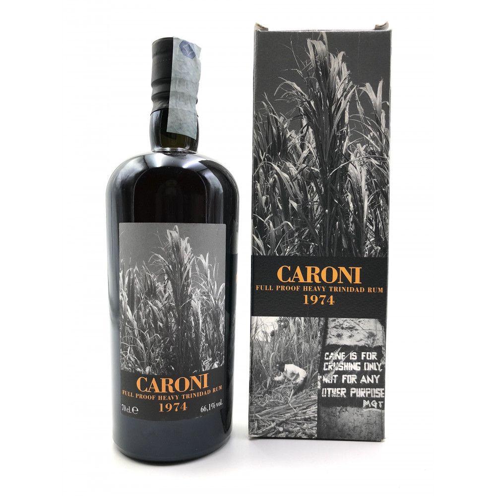 Rhum Caroni 1974 Heavy Rum Full Proof, 66,1°