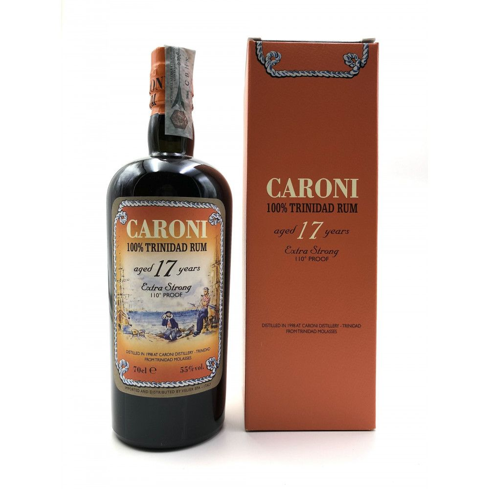 Rum Caroni 17 years Extra Strong 110° Proof, 55°