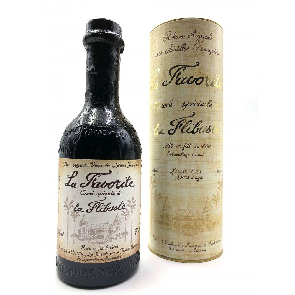 Rum La Favorite Cuvée Spéciale La Flibuste 1992, Martinique 40°