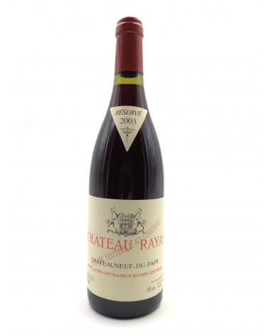 Château Rayas - Châteauneuf-du-Pape 2003