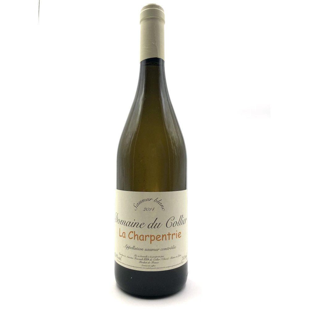 Domaine du Collier - La Charpentrie Saumur Blanc 2014