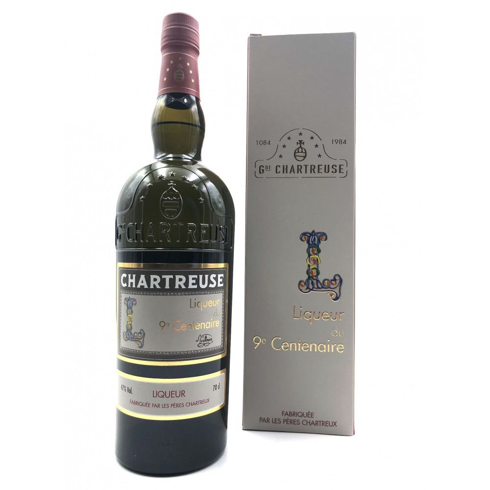 Les Pères Chartreux - Chartreuse Liqueur 9eme Centenaire