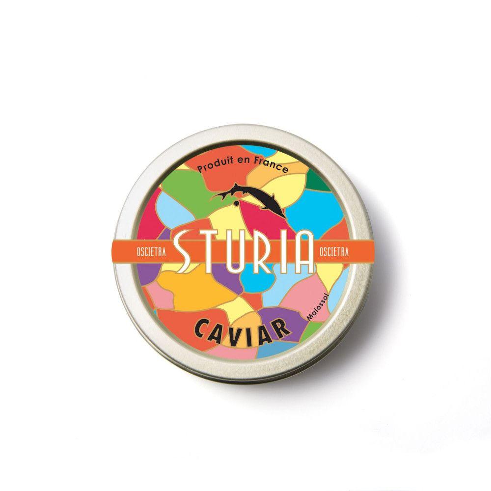 Caviar Sturia - Oscietra 125g