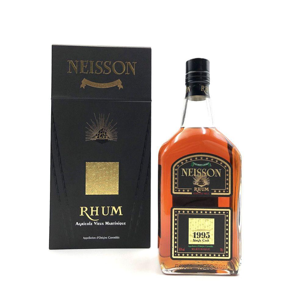 Rhum Neisson 1995 Single Cask, Joint Bottling Velier & LMDW, 48°