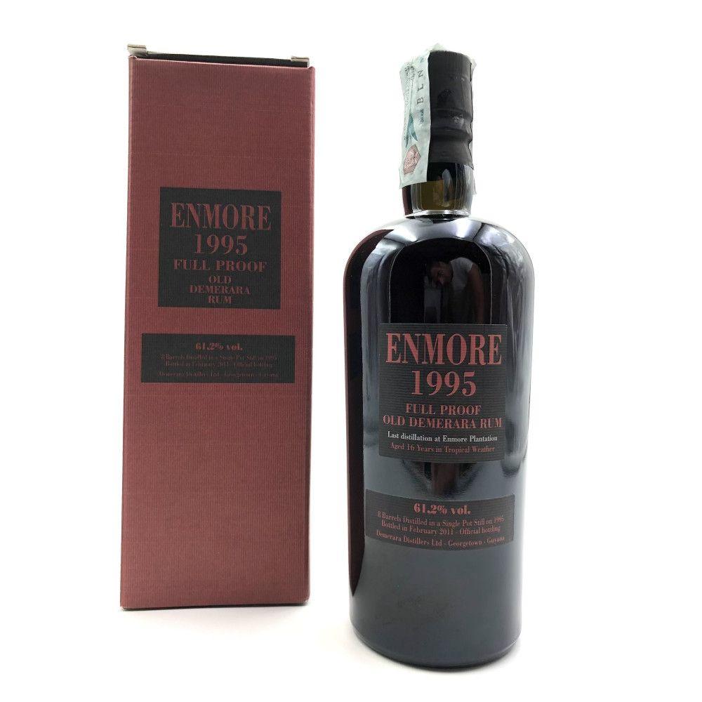 Rum Enmore 1995 Full Proof Old Demerara, 61,20°