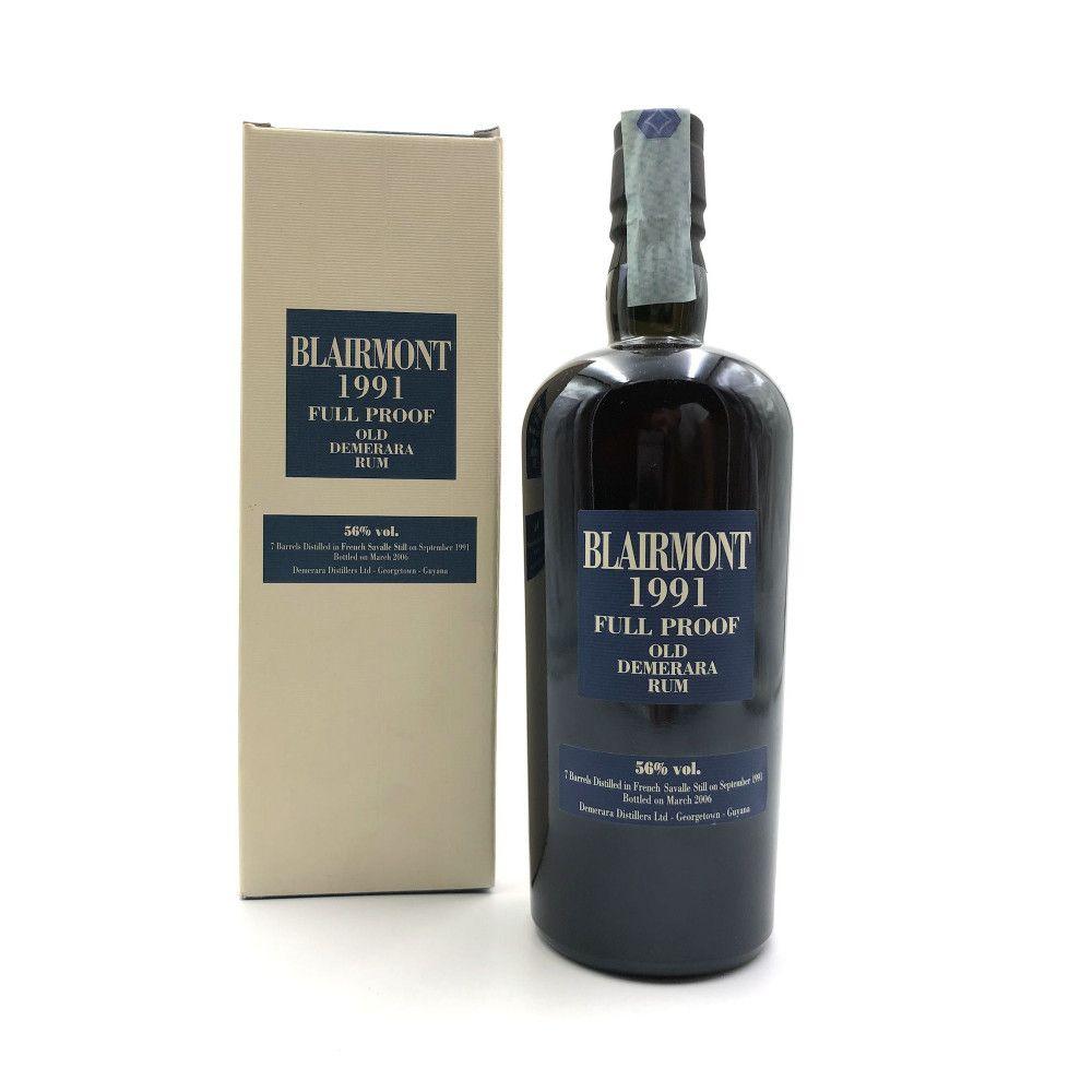 Rum Blairmont 1991, 15 years old Full Proof Old Demerara, 56°