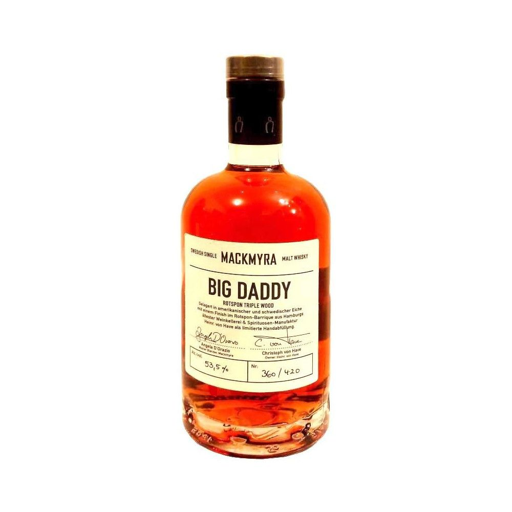 Whisky Mackmyra Rotspon Triple Wood Big Daddy 2015, 50cl