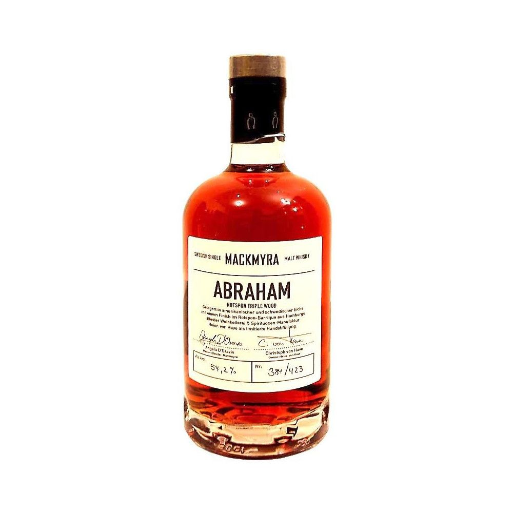 Whisky Mackmyra Rotspon Triple Wood Abraham 2015, 50cl
