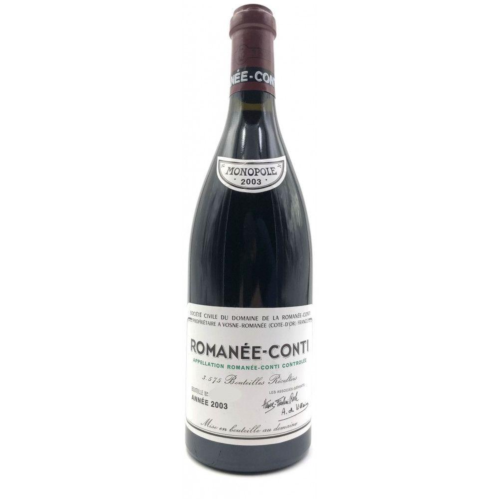 Domaine de La Romanée Conti - Romanée Conti Grand Cru Monopole 2003