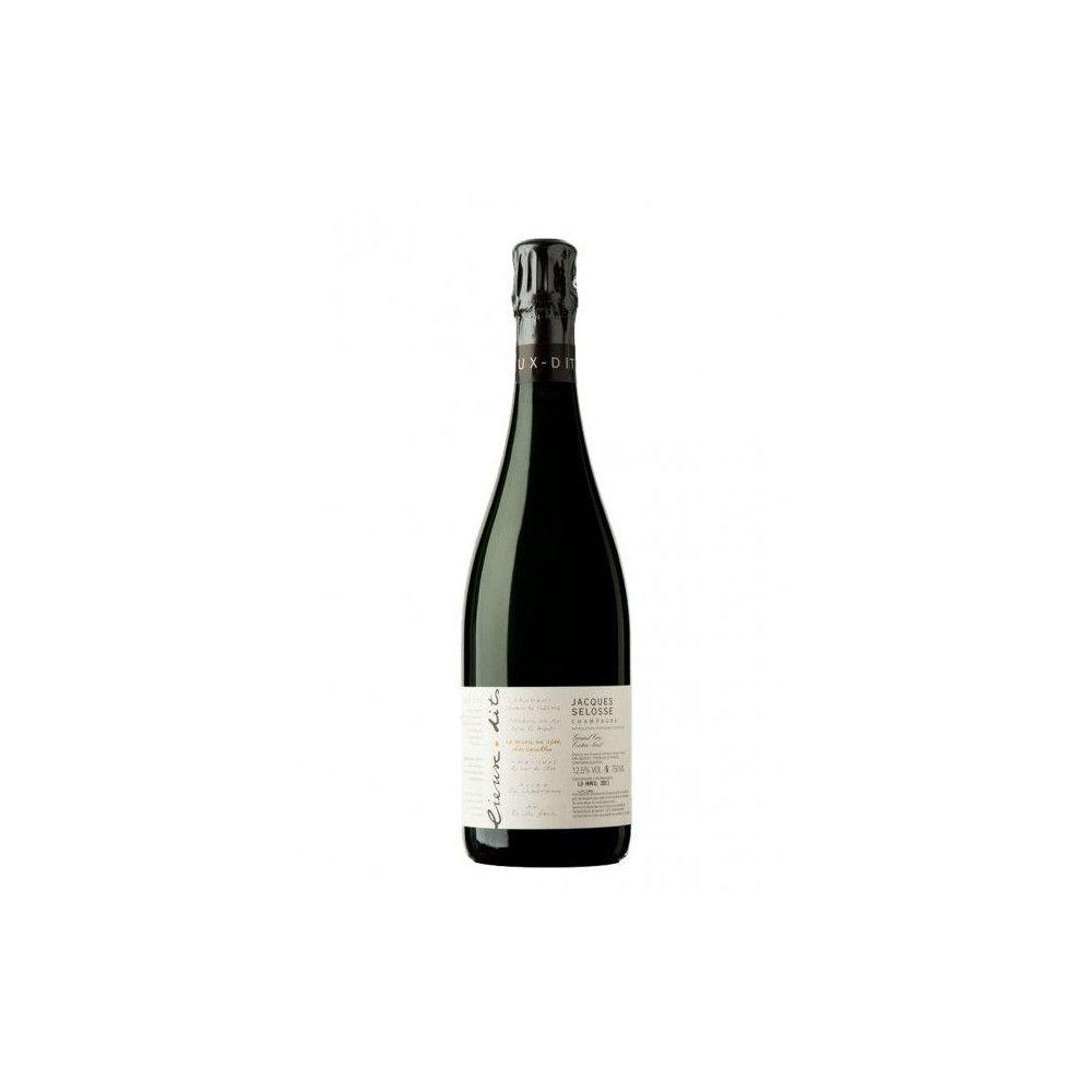 Jacques Selosse - Lieux dits Les Carelles Blanc de Blancs Extra Brut, 6 x 75cl