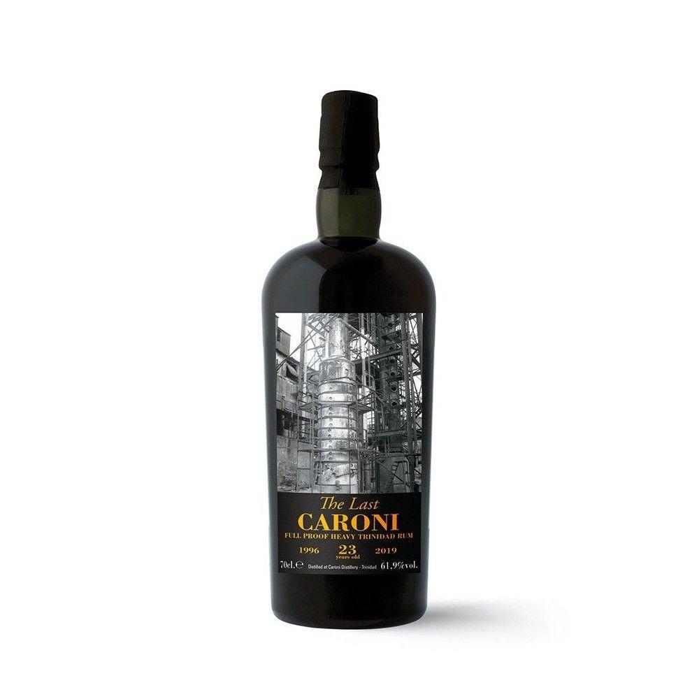Rum Caroni The Last 23 years old Full Proof Heavy 1996, 61,9°