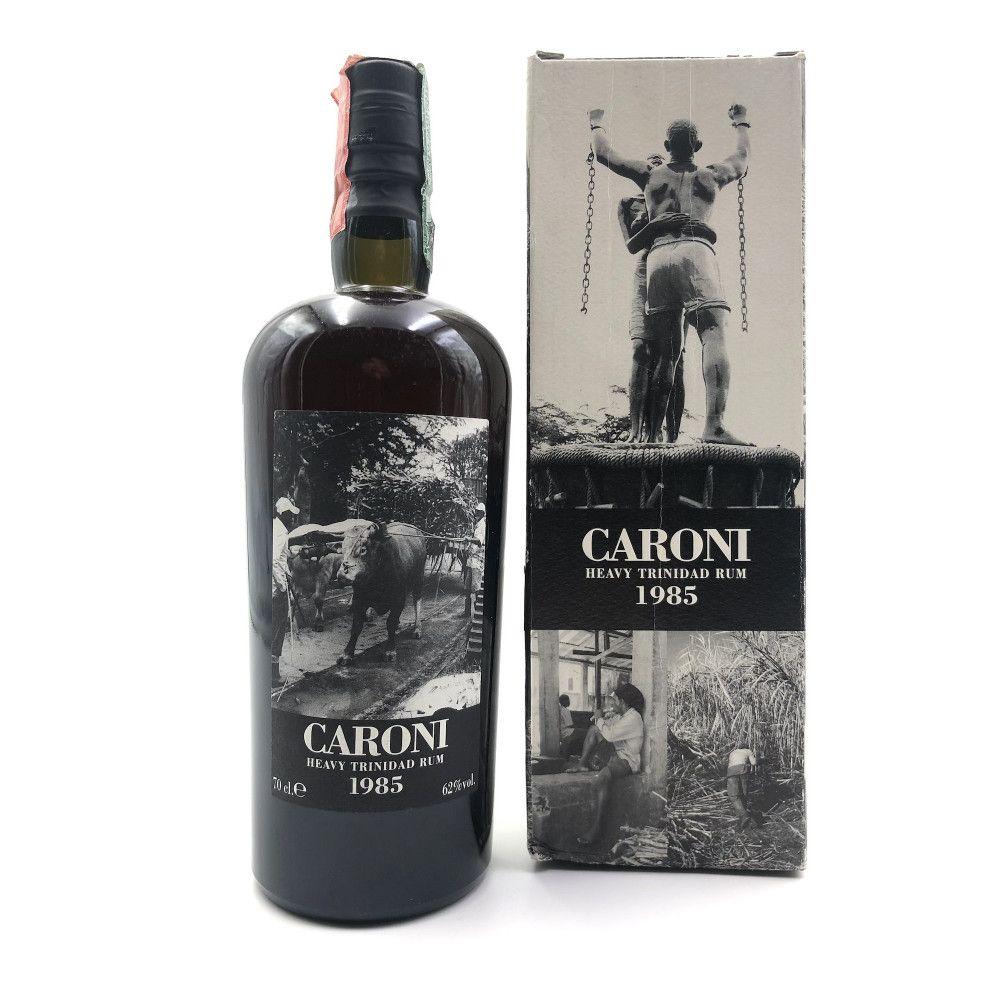 Rum Caroni 20 years old 1985 Heavy Rum Full Proof, 62°