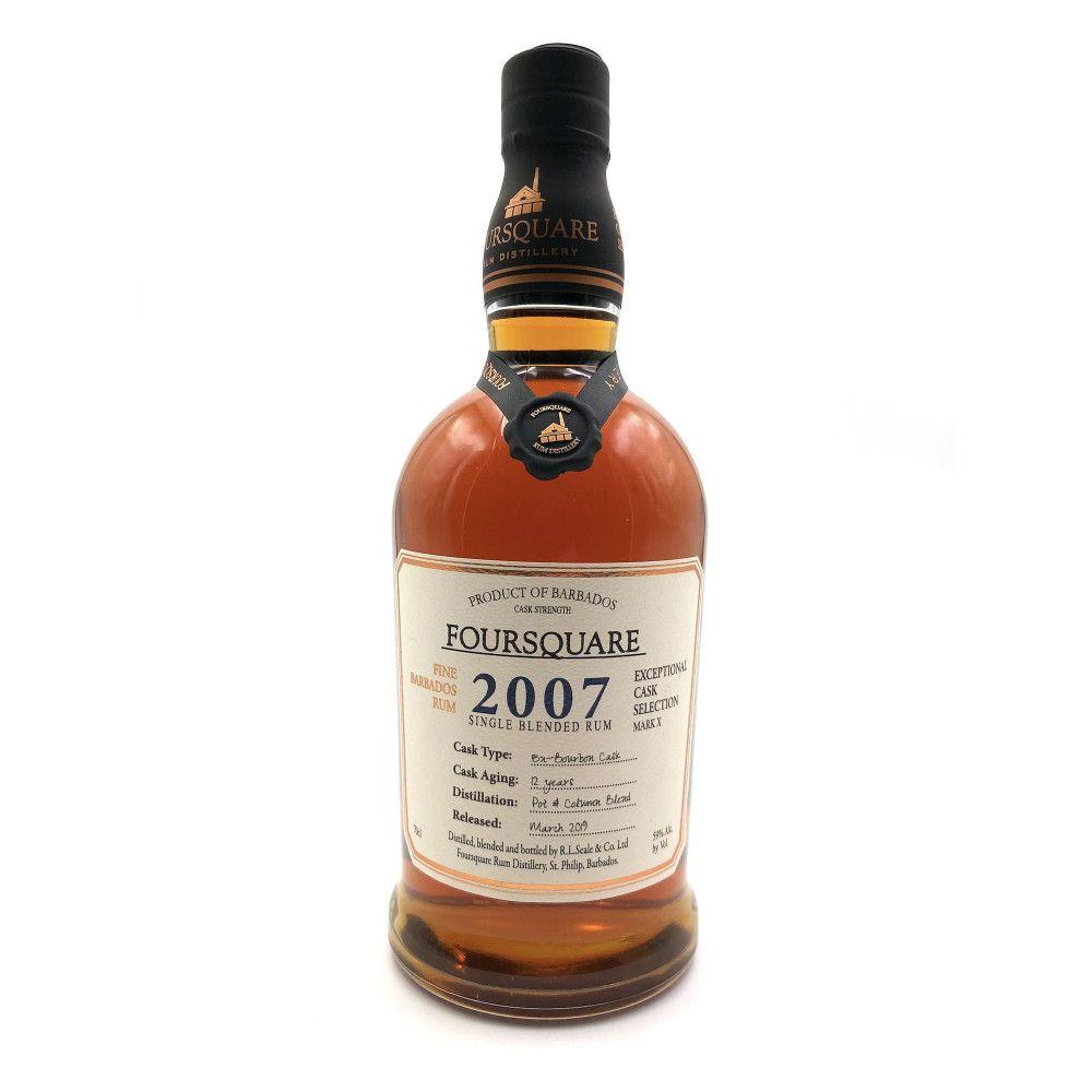 Rum Foursquare Cask Strength 2007, 59°
