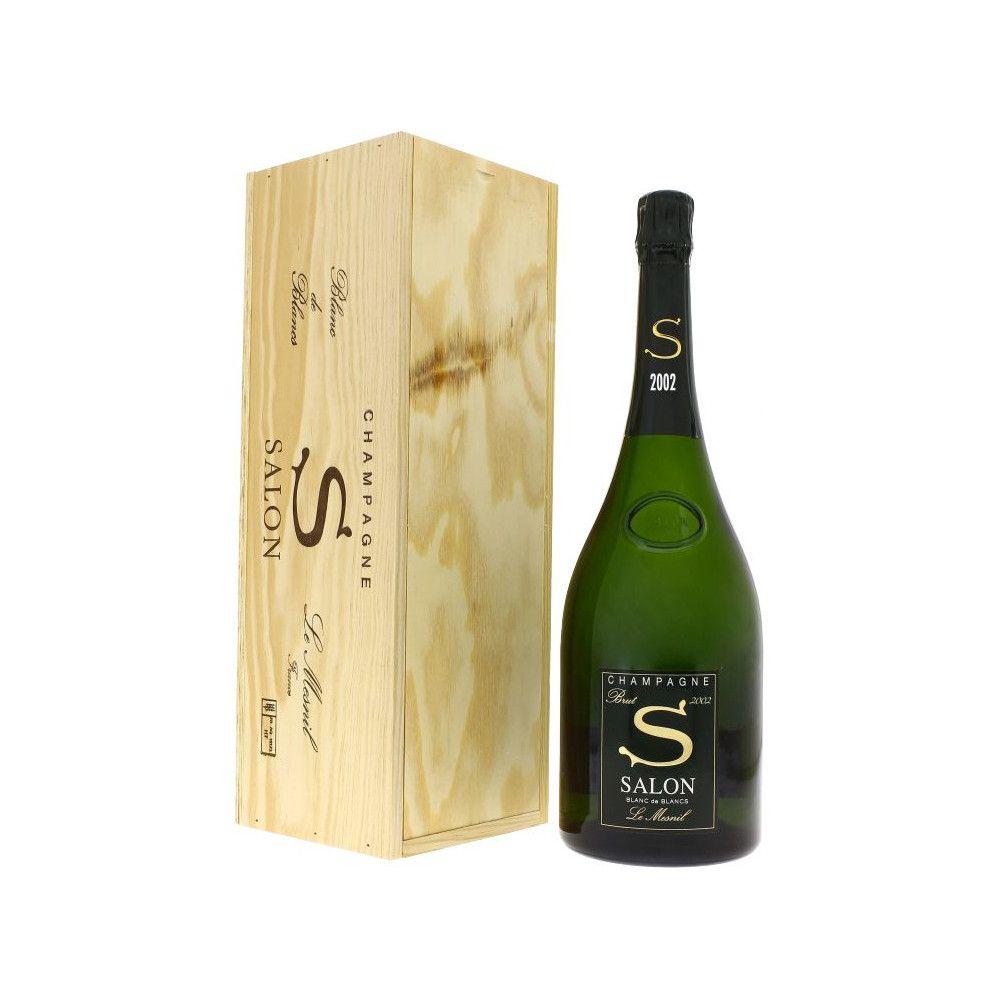 Champagne Salon Cuvée S Le Mesnil Blanc de Blancs Brut vintage 2002 Magnum OWC