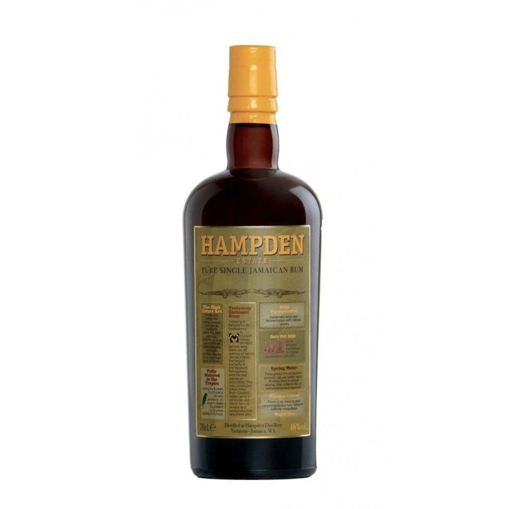 Rum Hampden Pure Single Jamaican Rum, 46°
