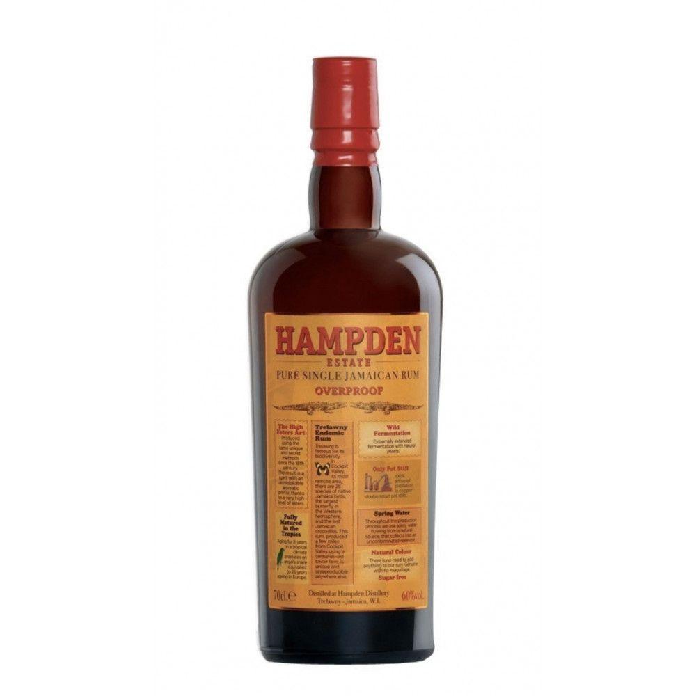 Rum Hampden Pure Single Jamaican Rum Overproof, 60°