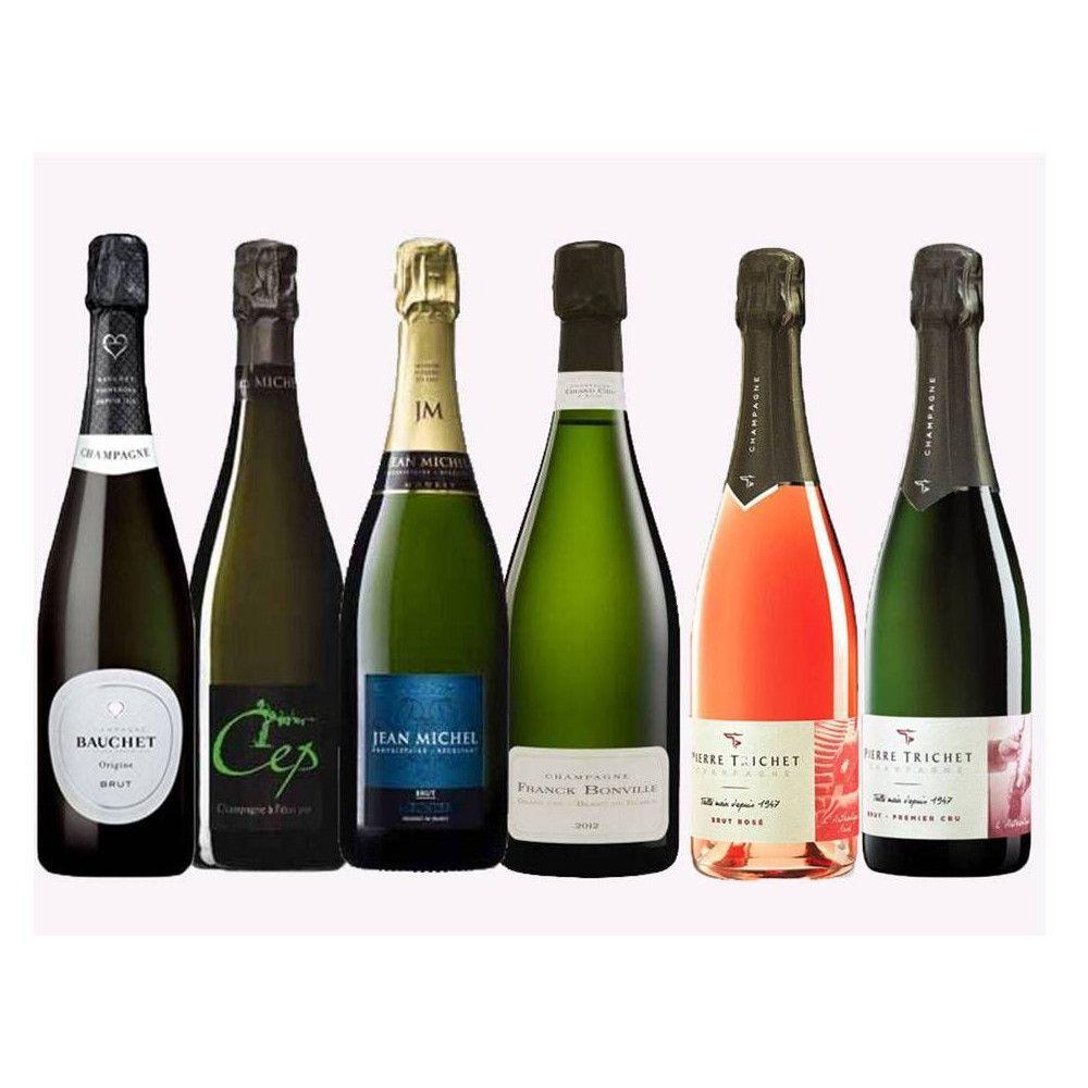Wine Box Champagnes de Vignerons 6 x 75cl