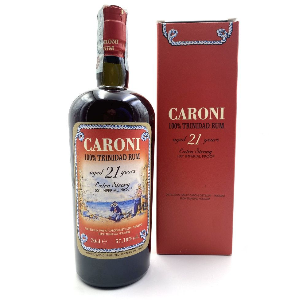 Rum Caroni 21 ans Extra Strong 100° Impérial Proof, 57,18°