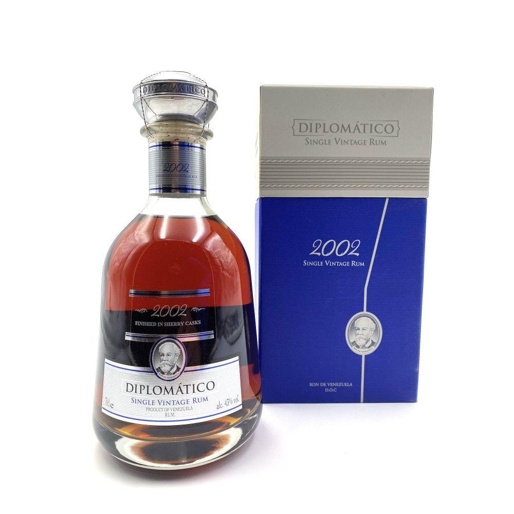 Rum Diplomatico Single Vintage 2002, 43°