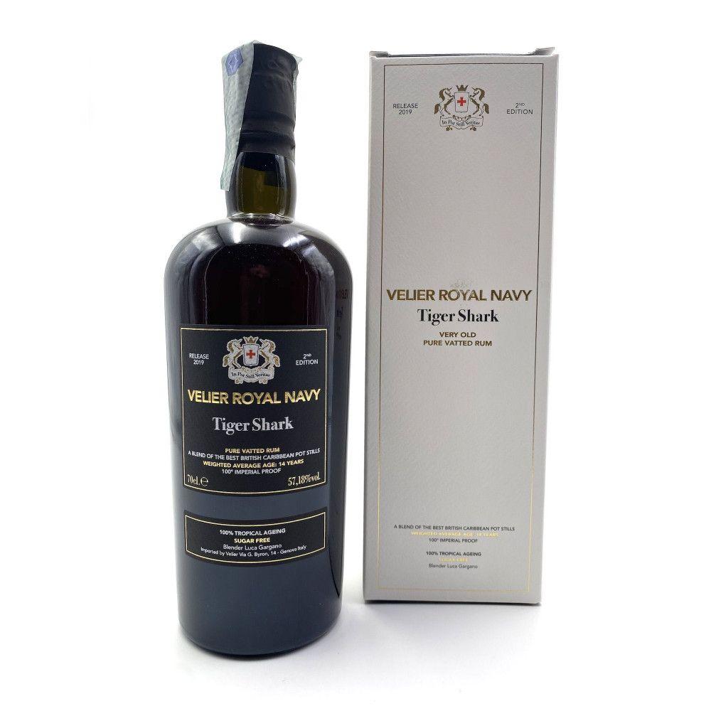 Rum Velier Royal Navy Tigershark 57,18°