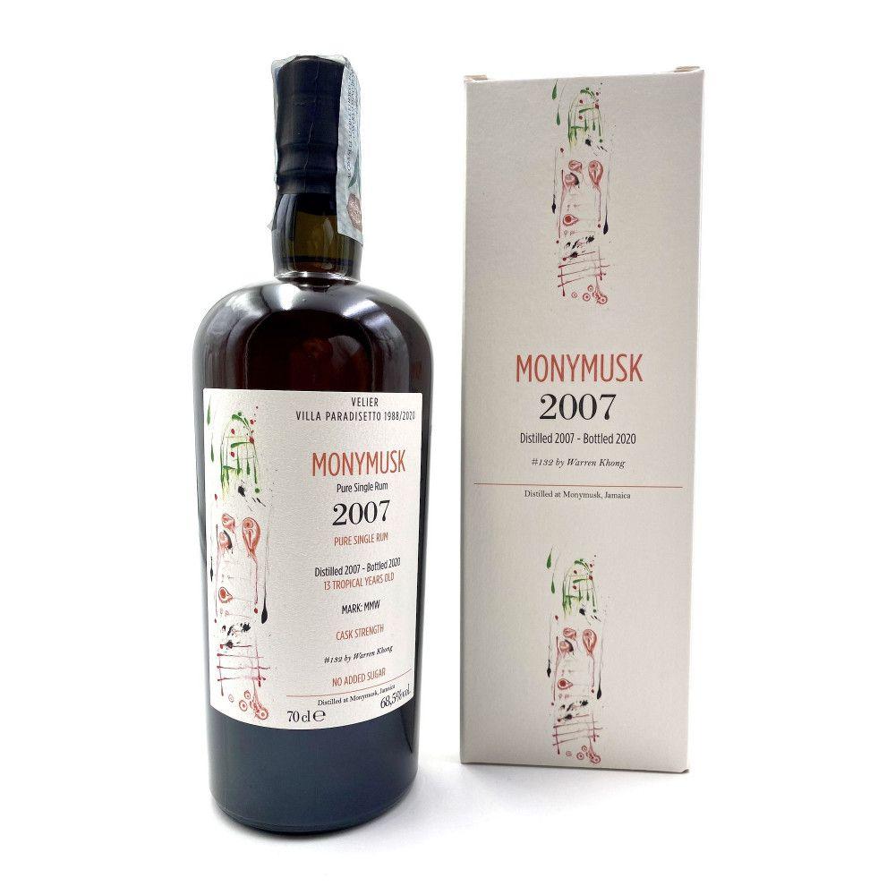 Rum Villa Paradisetto Monymusk MMW 13 years old 2007, 68,5°