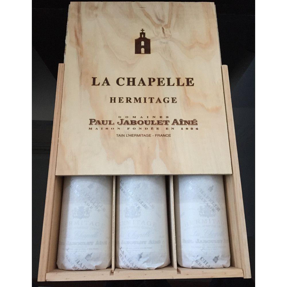 Jaboulet - Hermitage La Chapelle, Cote du Rhône 1990, 3 x 75cl OWC