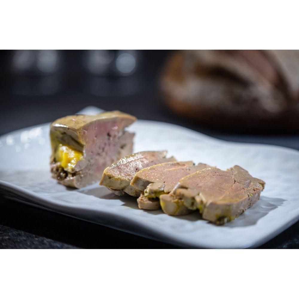 Foie naturellement gras d'oie sans gavage, Auca 125gr